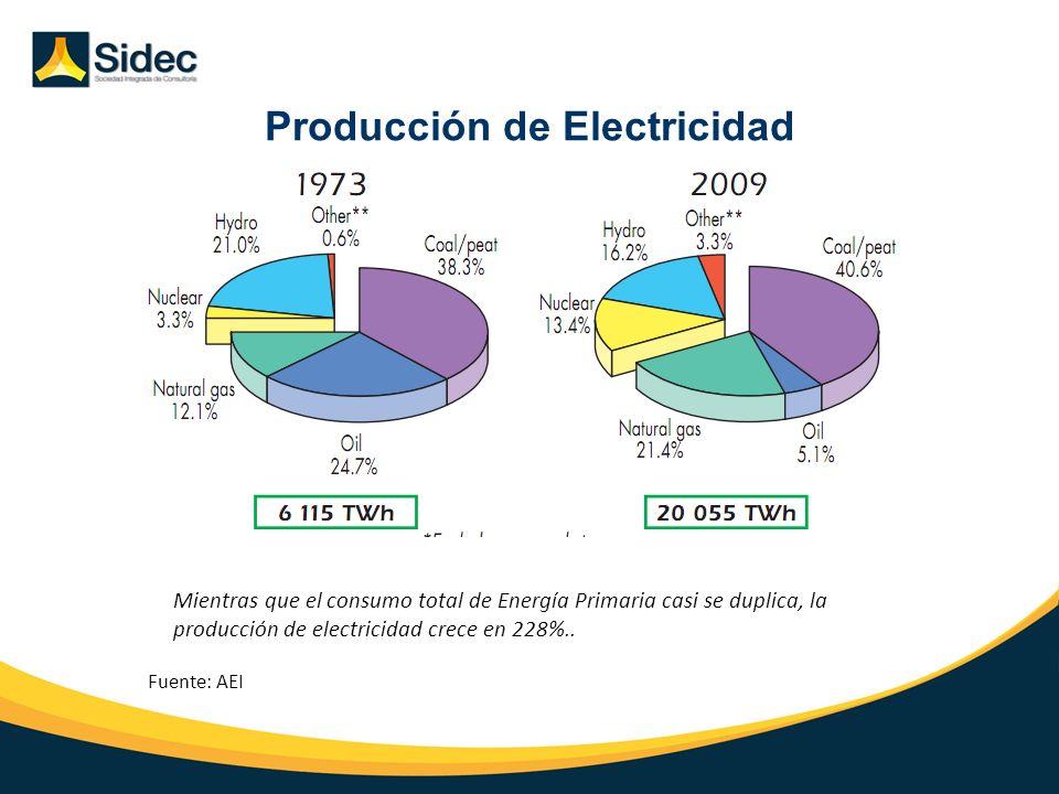 Producción de Electricidad