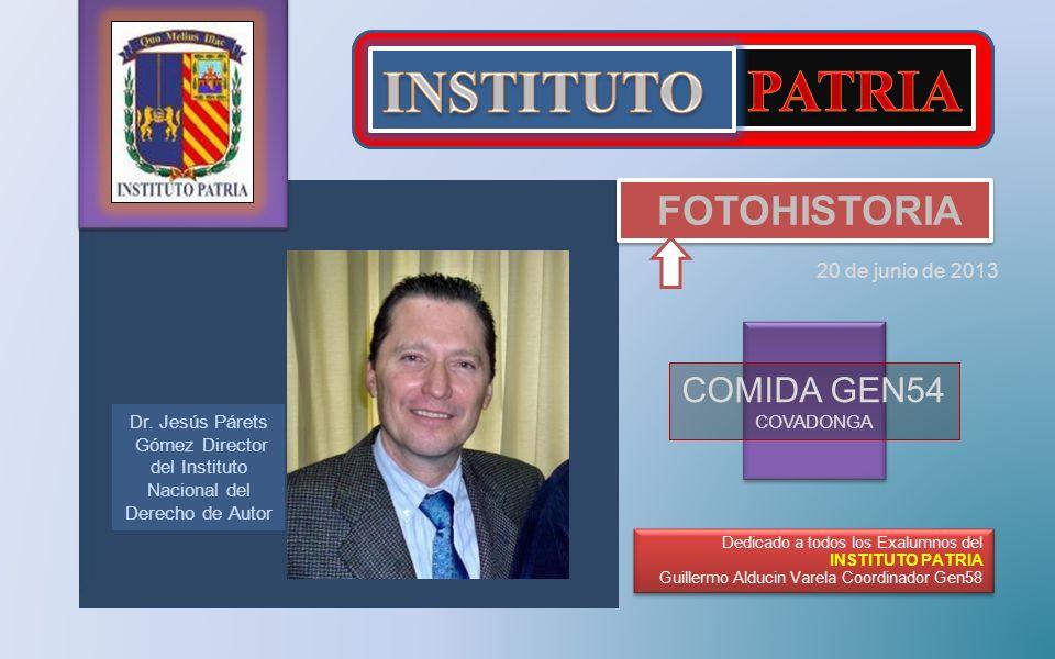Gómez Director del Instituto Nacional del Derecho de Autor
