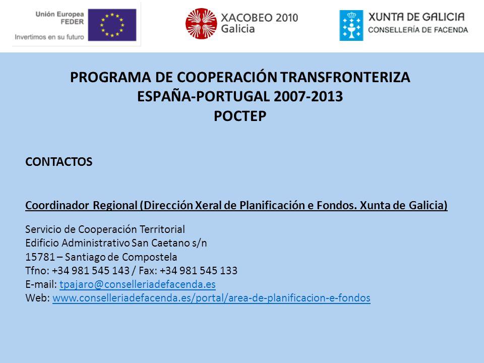 PROGRAMA DE COOPERACIÓN TRANSFRONTERIZA