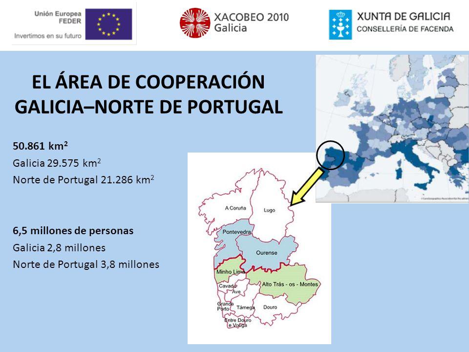 EL ÁREA DE COOPERACIÓN GALICIA–NORTE DE PORTUGAL