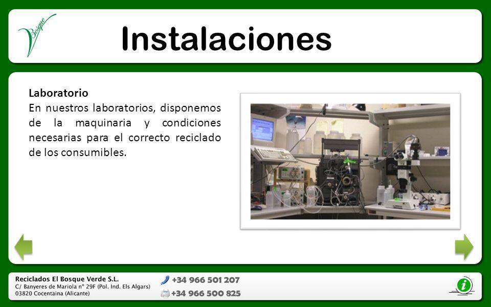 Instalaciones Laboratorio