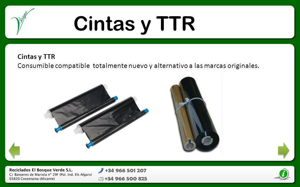 Cintas y TTR Cintas y TTR