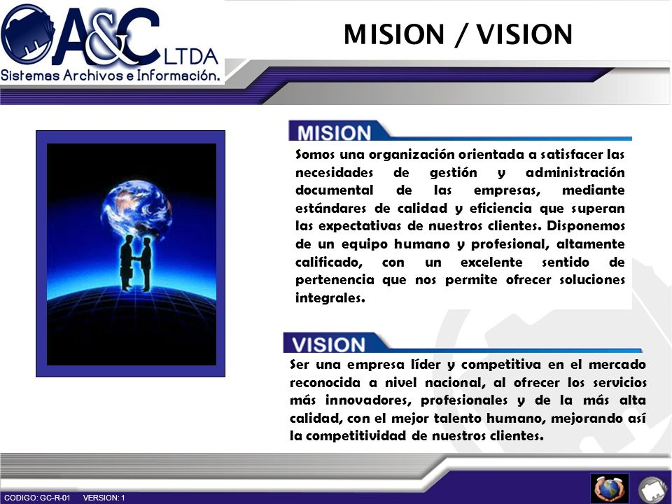 MISION / VISION