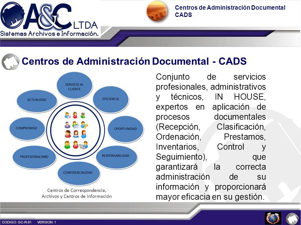Centros de Administración Documental - CADS