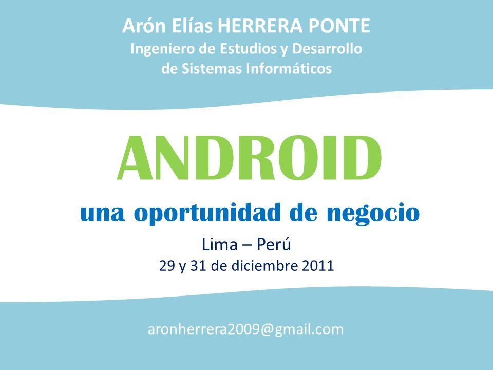 ANDROID una oportunidad de negocio Arón Elías HERRERA PONTE