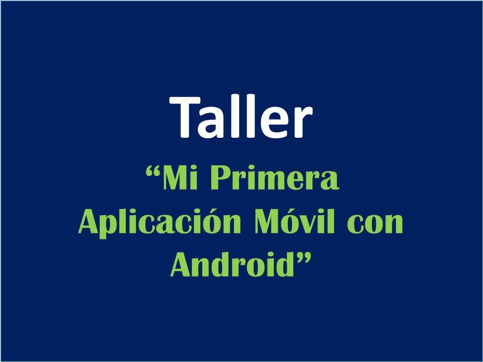 Aplicación Móvil con Android