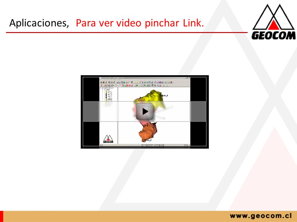 Aplicaciones, Para ver video pinchar Link.