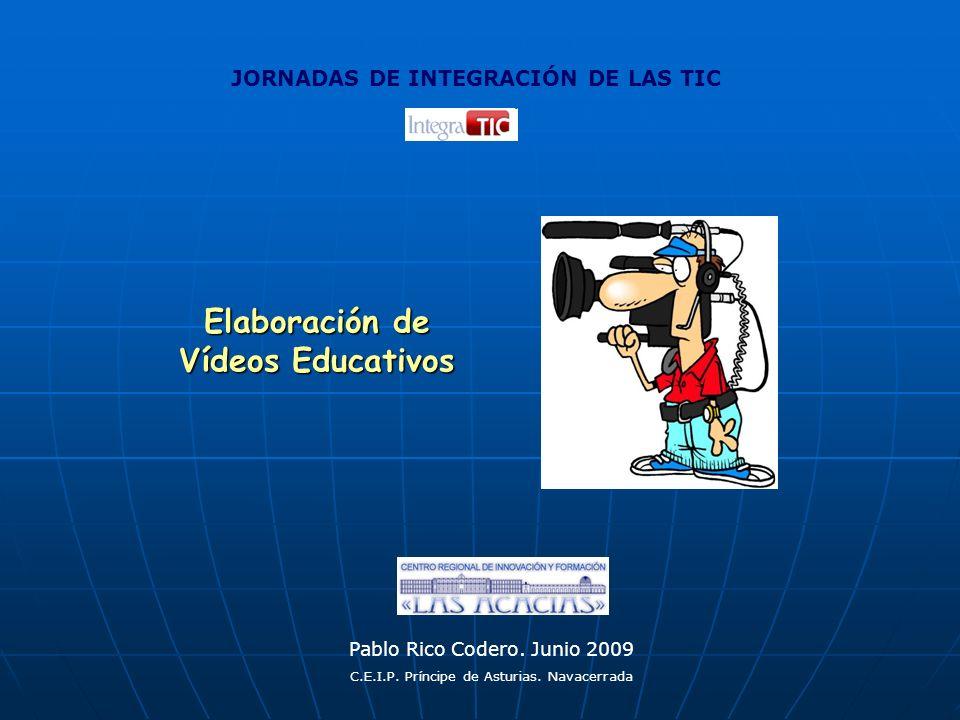 Elaboración de Vídeos Educativos