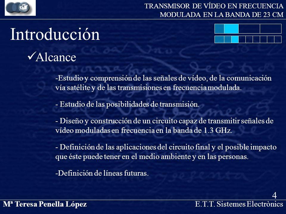 TRANSMISOR DE VÍDEO EN FRECUENCIA MODULADA EN LA BANDA DE 23 CM
