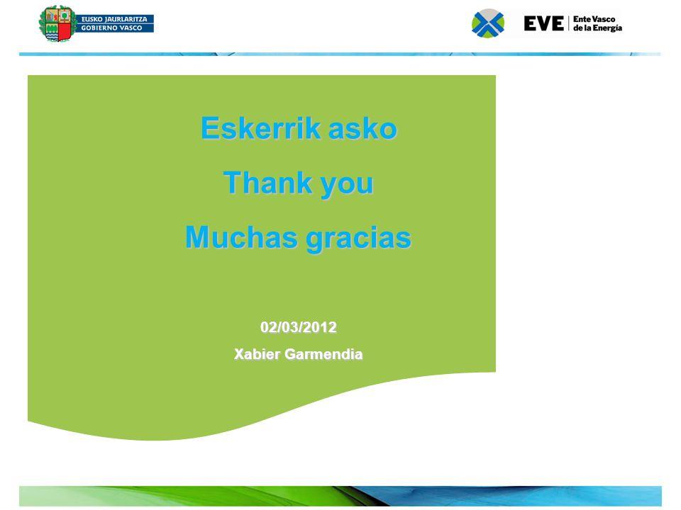 Eskerrik asko Thank you Muchas gracias
