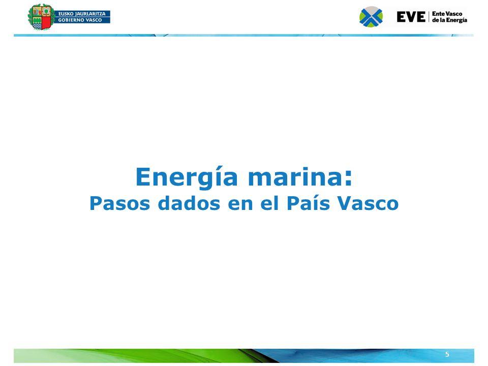 Pasos dados en el País Vasco