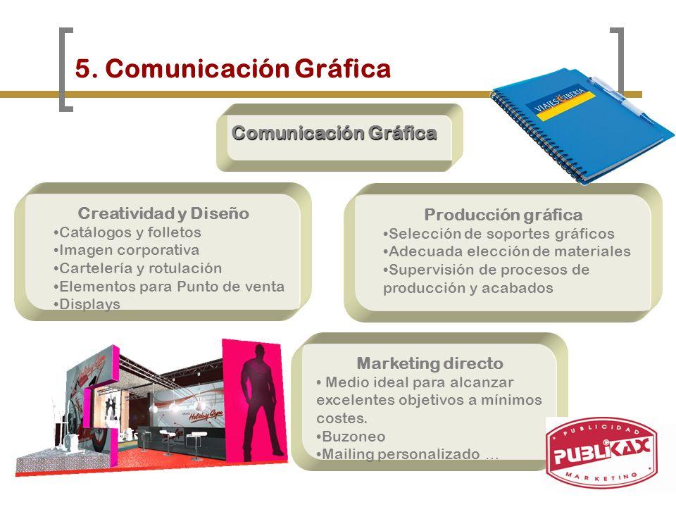 5. Comunicación Gráfica Comunicación Gráfica Creatividad y Diseño