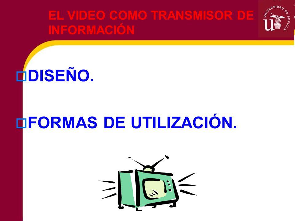 EL VIDEO COMO TRANSMISOR DE INFORMACIÓN