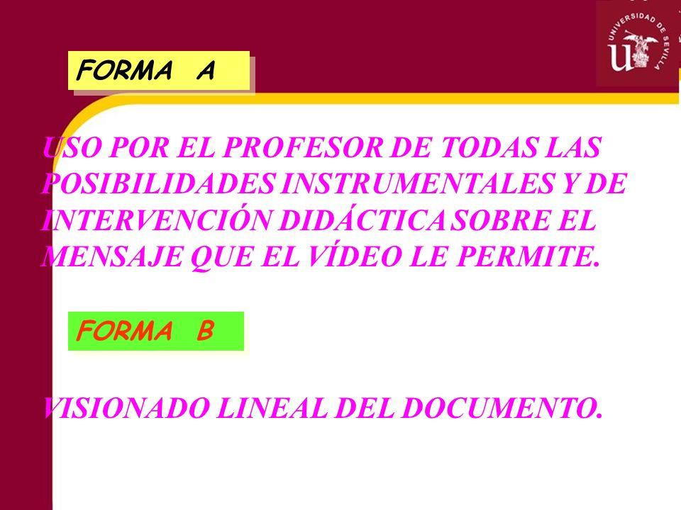 VISIONADO LINEAL DEL DOCUMENTO.