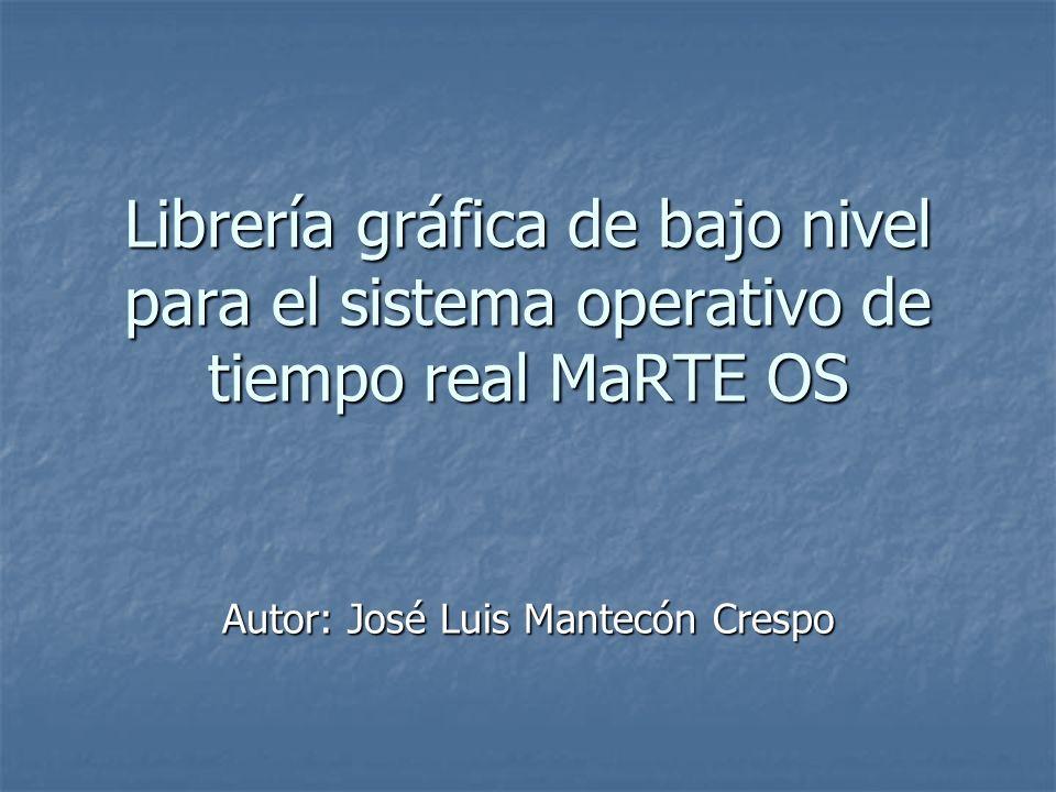 Autor: José Luis Mantecón Crespo