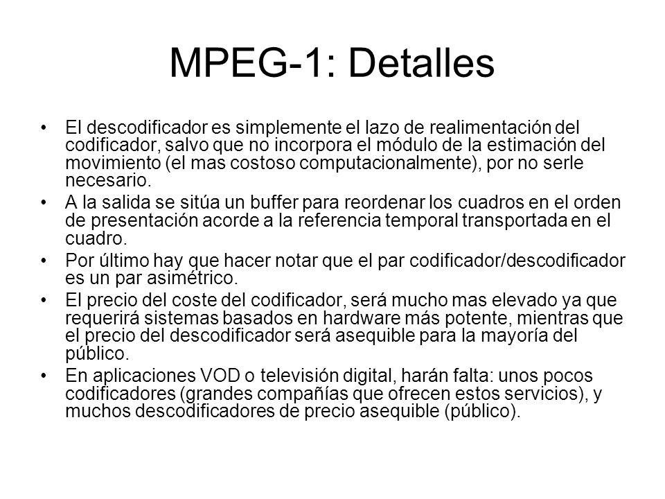 MPEG-1: Detalles