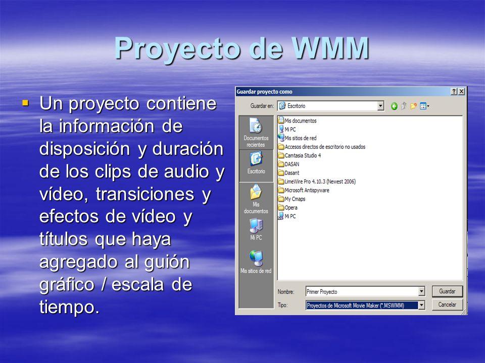 Proyecto de WMM