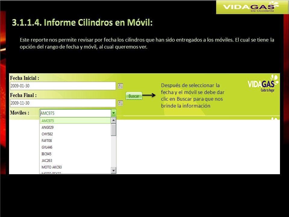3.1.1.4. Informe Cilindros en Móvil: