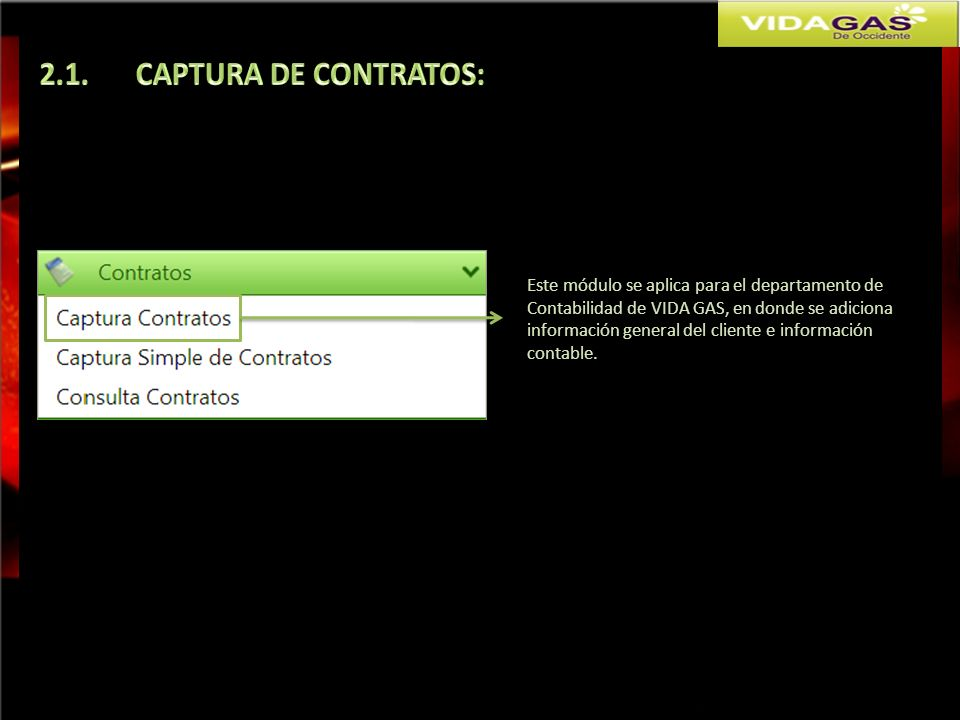 2.1. CAPTURA DE CONTRATOS: