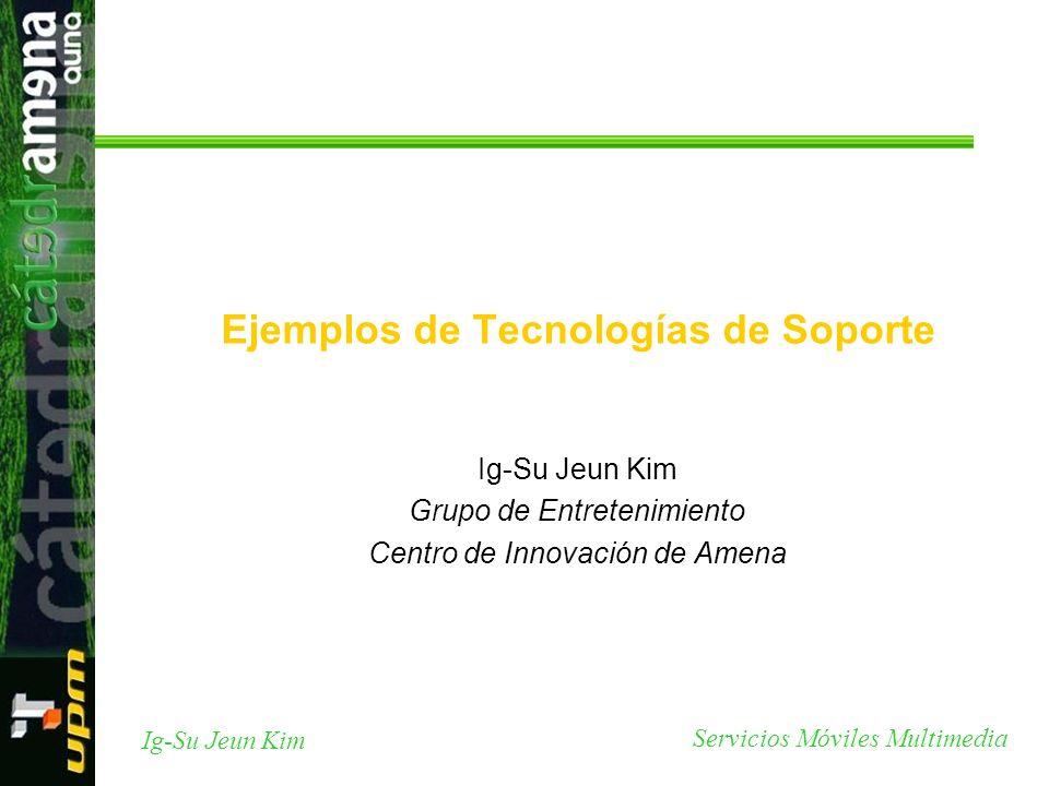 Ejemplos de Tecnologías de Soporte