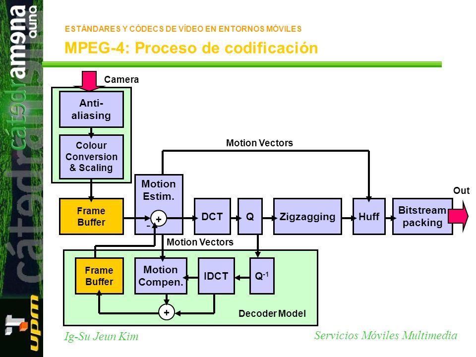 MPEG-4: Proceso de codificación
