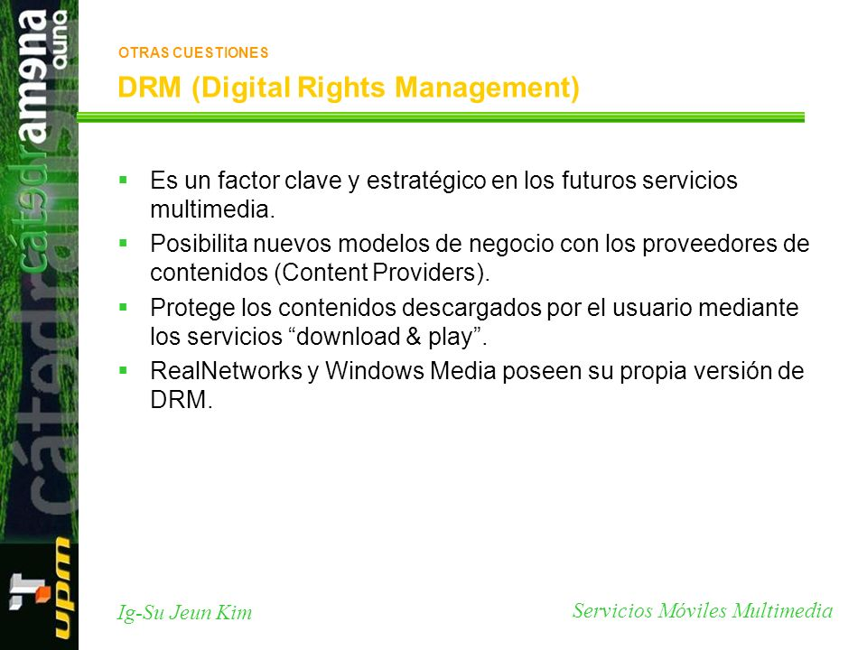 DRM (Digital Rights Management)