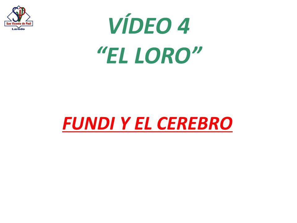 VÍDEO 4 EL LORO FUNDI Y EL CEREBRO