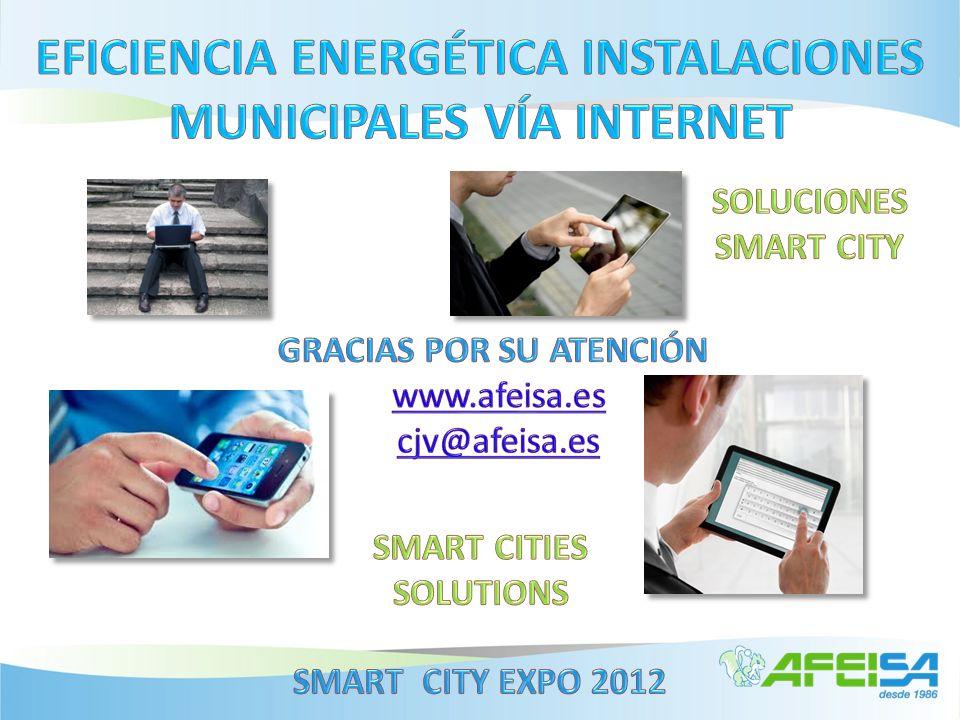 EFICIENCIA ENERGÉTICA INSTALACIONES MUNICIPALES VÍA INTERNET