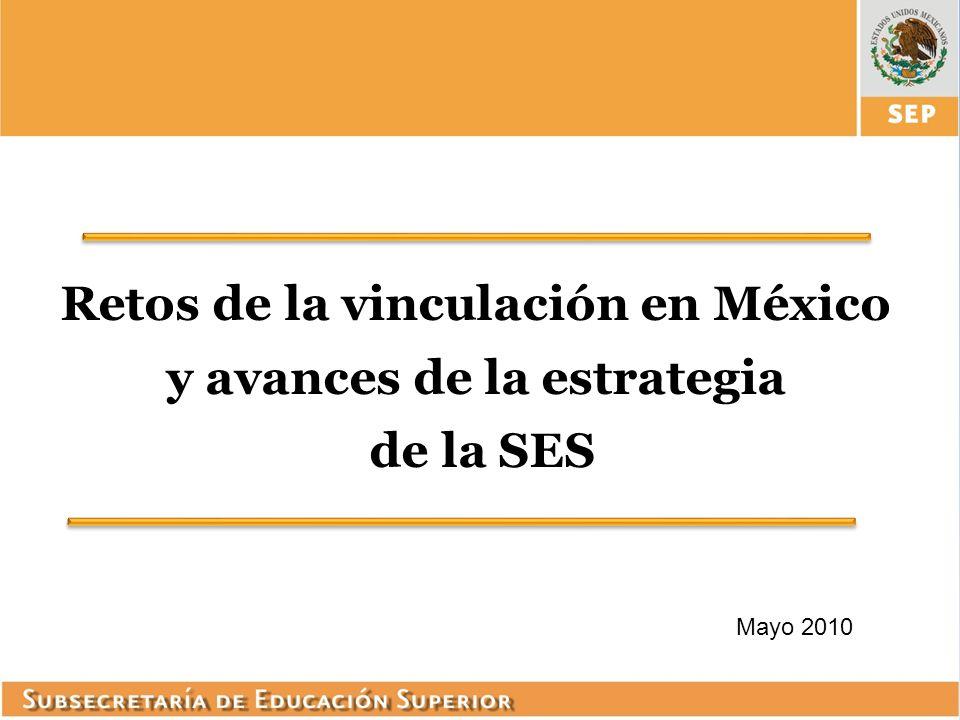 Retos de la vinculación en México y avances de la estrategia