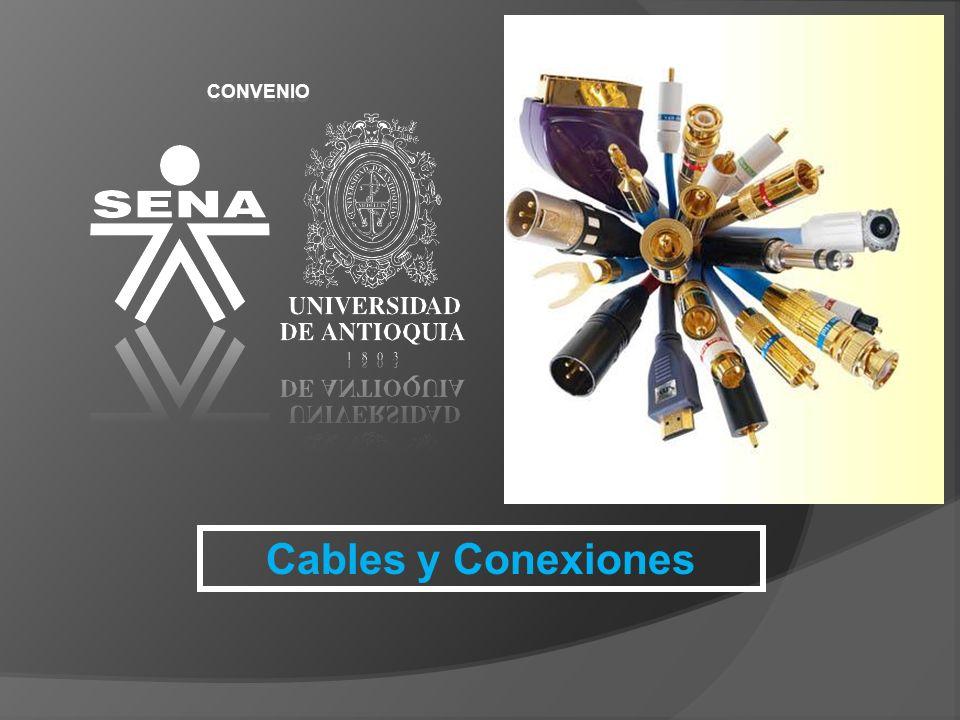 Cables y Conexiones CONVENIO