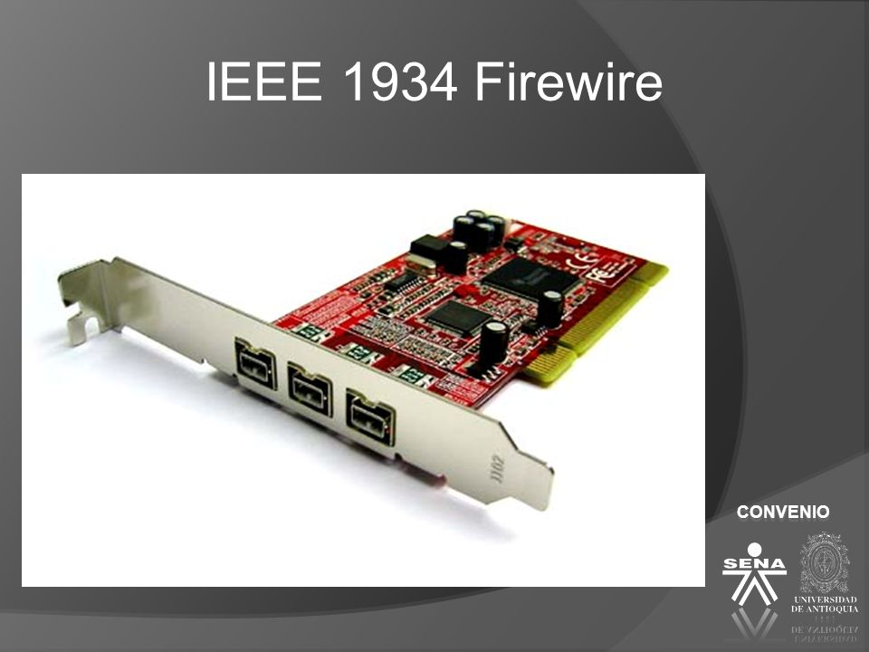 IEEE 1934 Firewire CONVENIO