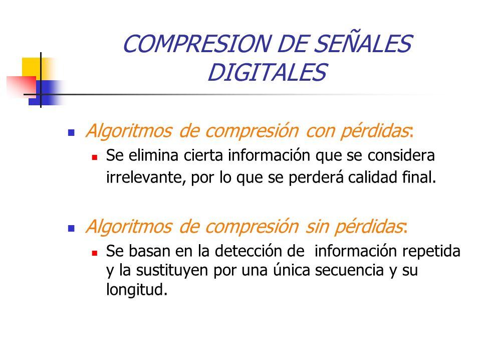 COMPRESION DE SEÑALES DIGITALES