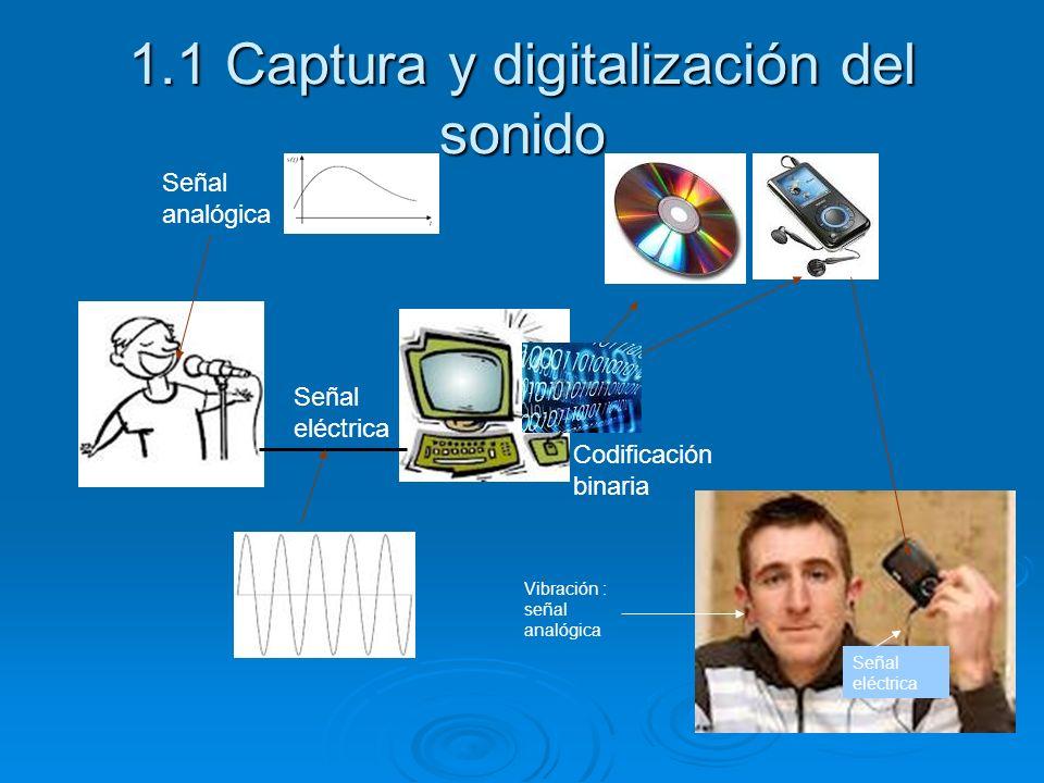 1.1 Captura y digitalización del sonido