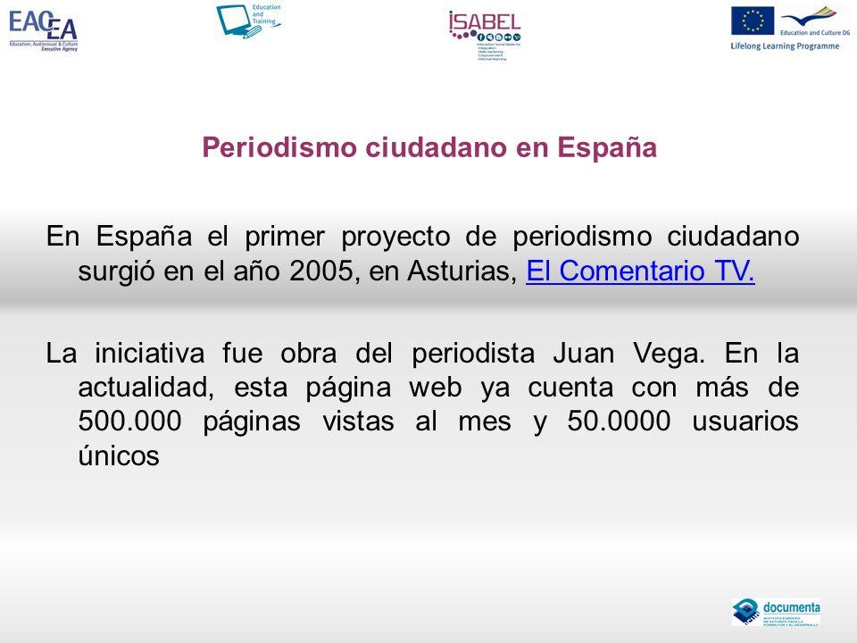 Periodismo ciudadano en España