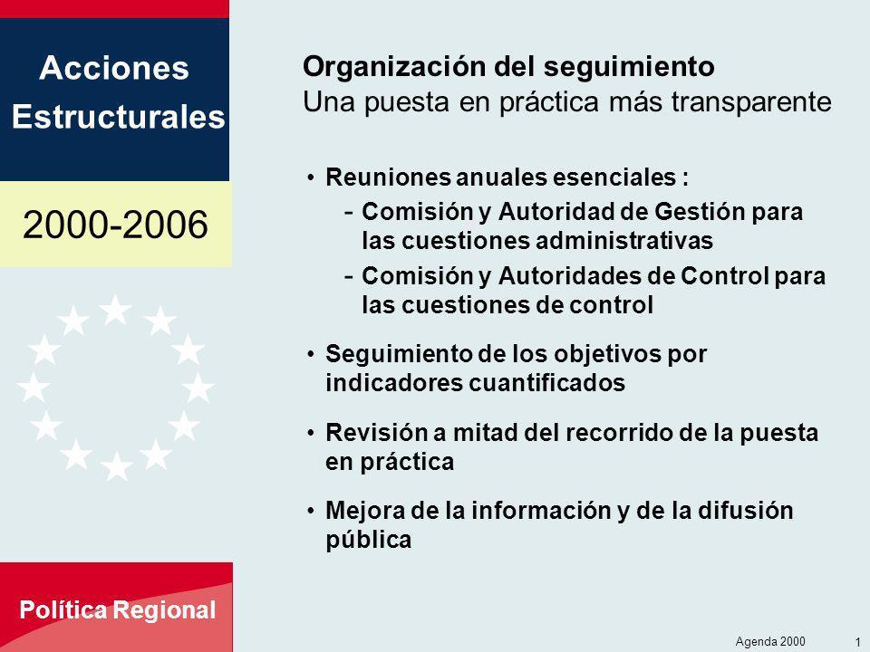 Organización del seguimiento Una puesta en práctica más transparente
