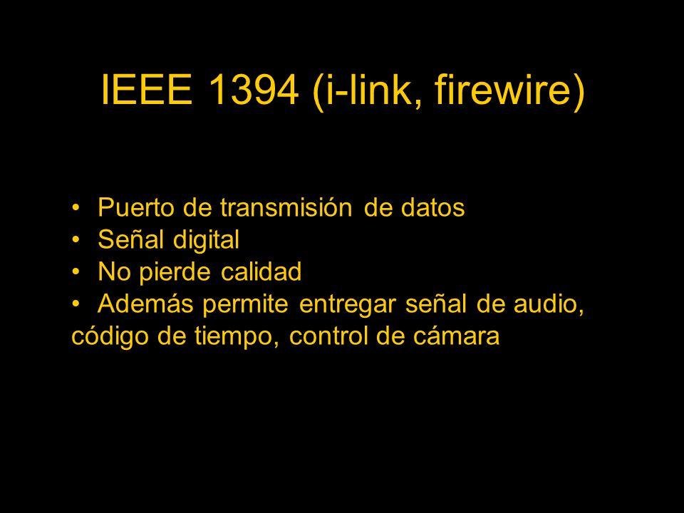 IEEE 1394 (i-link, firewire)