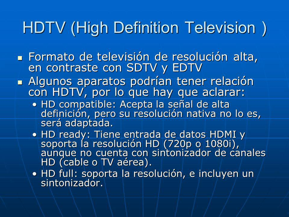 HDTV (High Definition Television )
