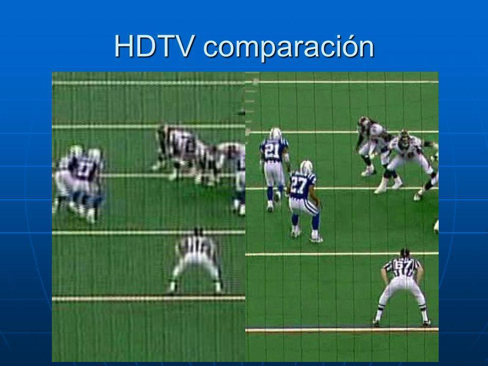 HDTV comparación