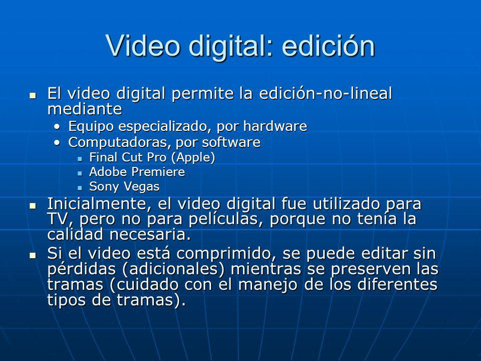 Video digital: edición