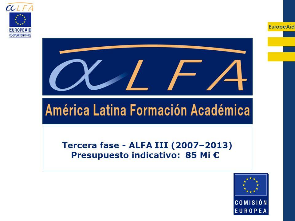 Tercera fase - ALFA III (2007–2013)