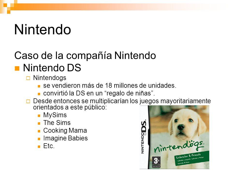 Nintendo Caso de la compañía Nintendo Nintendo DS Nintendogs