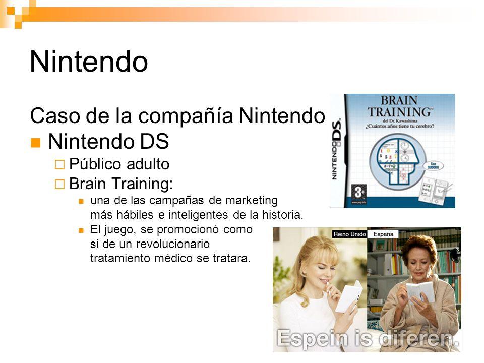 Nintendo Caso de la compañía Nintendo Nintendo DS Público adulto