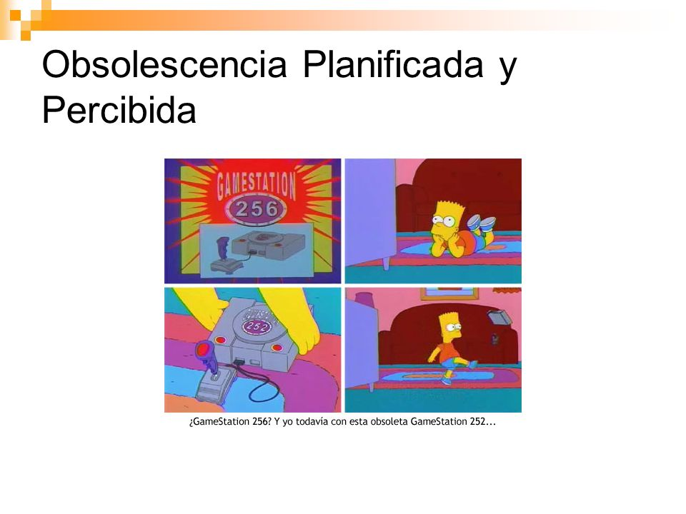 Obsolescencia Planificada y Percibida