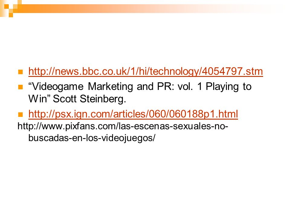 Videogame Marketing and PR: vol. 1 Playing to Win Scott Steinberg.