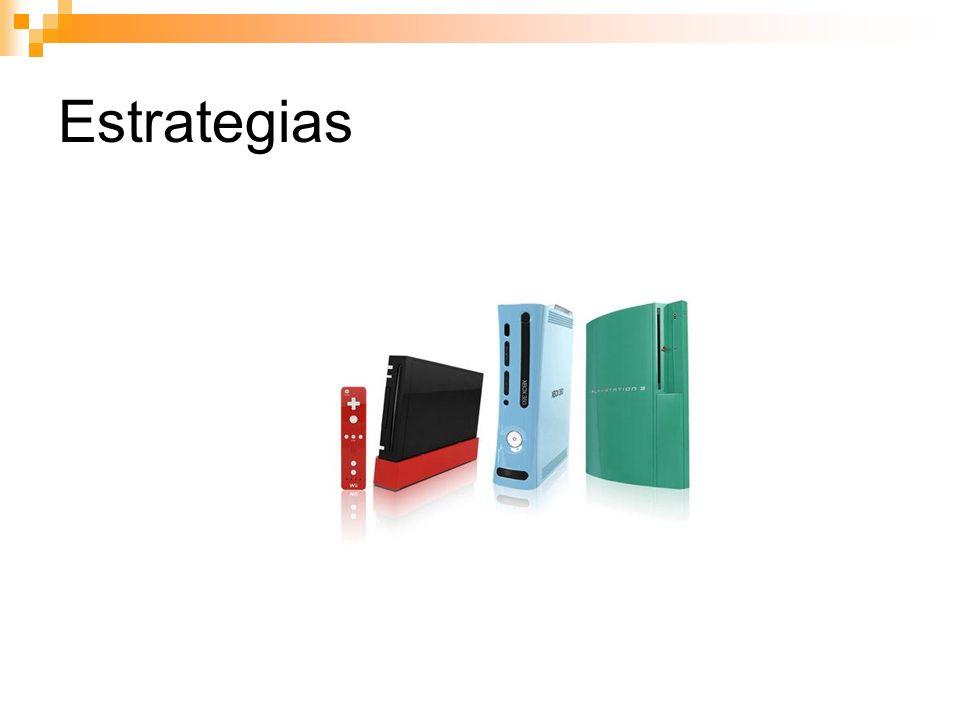 Estrategias (Merado japonés mucho mas competitivo que el europeo y un cambio de color puede significar comprar la misma consola otra vez)