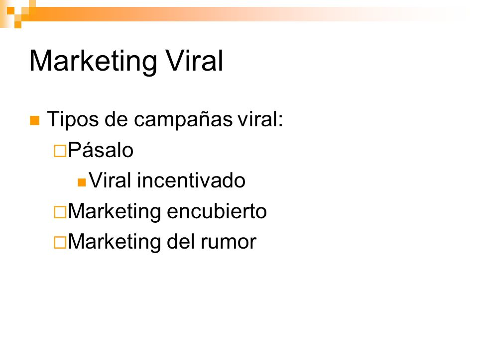 Marketing Viral Tipos de campañas viral: Pásalo Viral incentivado