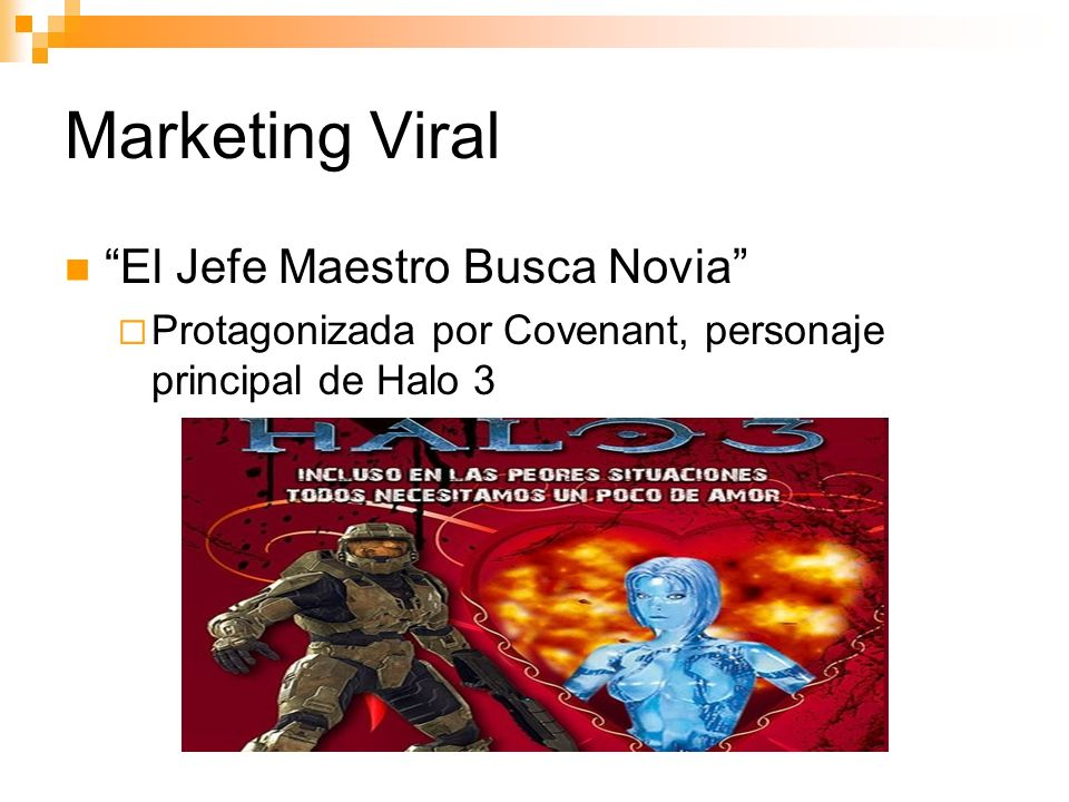 Marketing Viral El Jefe Maestro Busca Novia