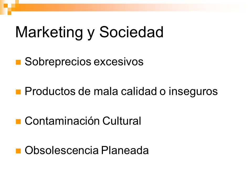 Marketing y Sociedad Sobreprecios excesivos