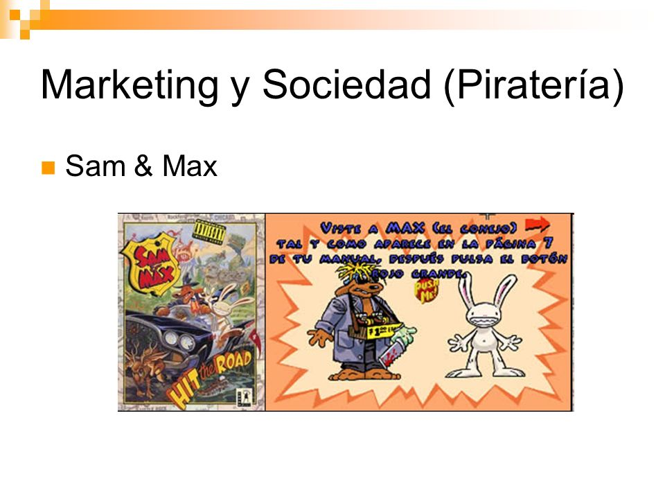 Marketing y Sociedad (Piratería)