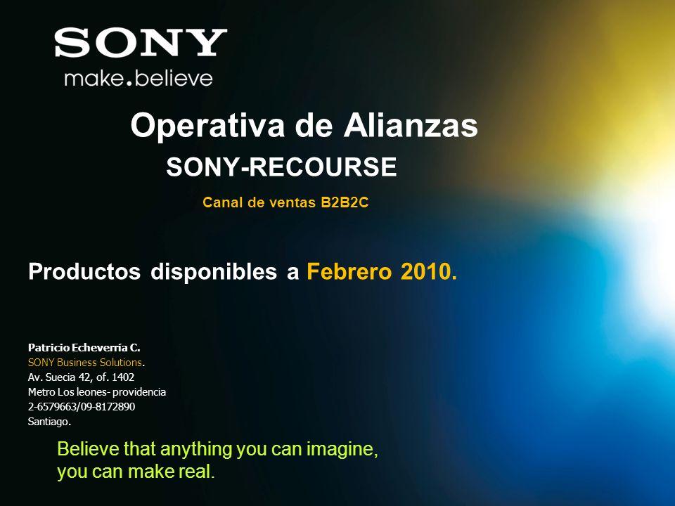 SONY-RECOURSE Canal de ventas B2B2C